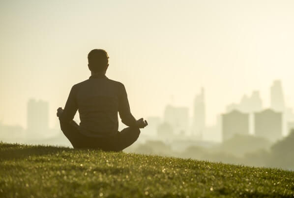 calmness through meditation, coaching psychology